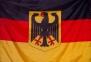 Флаг Германии с гербом