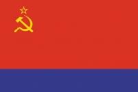 Флаг Азербайджанской ССР