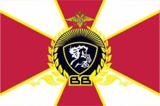 "Флаг ""ВВ СКВО"" фото"