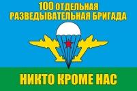 Флаг «100 Отдельная разведывательная бригада ВДВ»