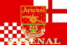 Флаг «FC Arsenal» (Арсенал) фото