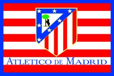 "Флаг ""FC Atletico de Madrid"" фото"
