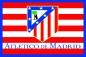 """Флаг """"FC Atletico de Madrid"""" фотография"""