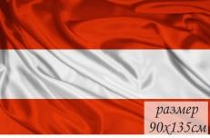 Двухсторонний флаг Австрии фото