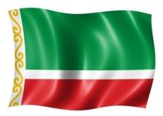 Флаг Чеченской Республики фото