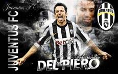 """Флаг """"Juventus FC"""" """"Del Piero"""" фото"""