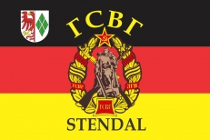 Флаг ГСВГ Stendal (Штендаль) фото
