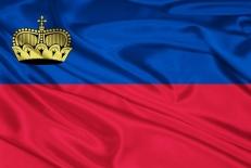 Флаг Лихтенштейна фото
