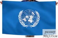 Флаг ООН (Организации Объединенных наций) фото