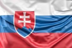 Двухсторонний флаг Словакии фото