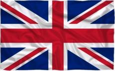 Двухсторонний флаг Великобритании фото