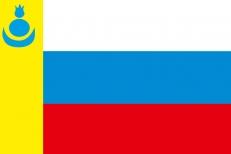 Флаг Агинского Бурятского округа 1996 года фото