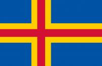 Флаг Аландских островов