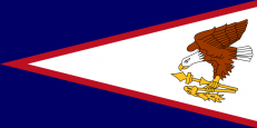 Флаг Американского Самоа фото
