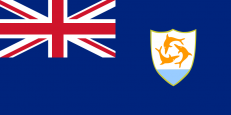 Флаг Ангильи фото