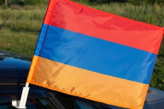Флаг Армении на машину фото