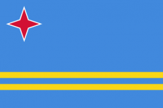 Флаг Арубы фото