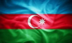 Двухсторонний флаг Азербайджана фото