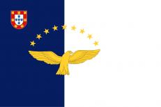 Флаг Азорских островов фото