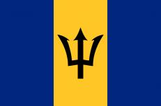 Флаг Барбадоса фото