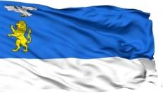 Двухсторонний флаг Белгорода фото