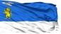 Двухсторонний флаг Белгорода фотография