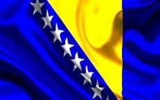 Флаг Боснии и Герцеговины фото