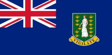 Флаг Британских Виргинских островов фото