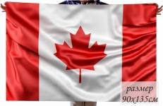 Двухсторонний флаг Канады фото