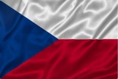 Двухсторонний флаг Чехии фото