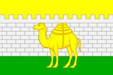 Двухсторонний флаг Челябинска фото
