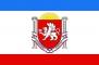 """Флаг """"Республики Крым"""" с гербом"""