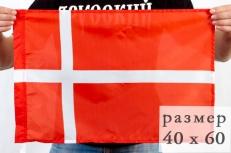 Флаг Дании 40х60 см фото