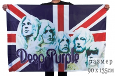 Флаг «Deep Purple» фото