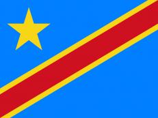 Флаг Демократической Республики Конго фото