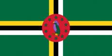 Флаг Доминики фото