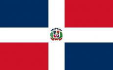 Флаг Доминиканской республики фото