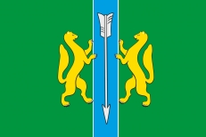 Флаг Енисейского района фото
