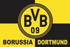 "Флаг ""FC Borussia Dortmund"" фото"