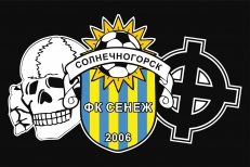 Флаг ФК «Сенеж» фото