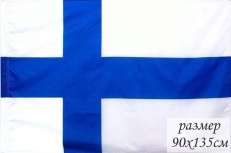Двухсторонний флаг Финляндии фото