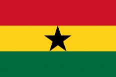 Флаг Ганы фото