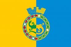 Флаг Горноуральского округа фото