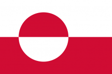 Флаг Гренландии фото
