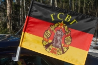 Флаг Группы войск в Германии на авто