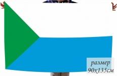 Двухсторонний флаг Хабаровского края фото