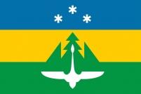 Флаг Ханты-Мансийска 2002 года
