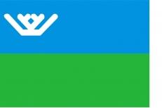 Флаг Ханты-Мансийского автономного округа – Югры фото