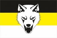 """Имперский флаг """"Сопротивление"""" """"Волк"""""""