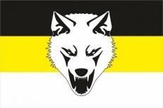 """Имперский флаг """"Сопротивление"""" """"Волк"""" фото"""